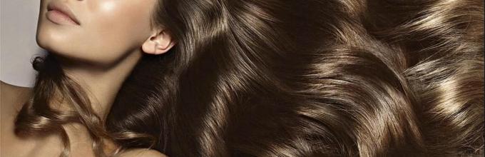 Длинные здоровые волосы